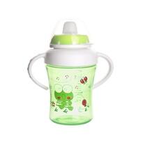 Cană cu muștiuc Orion ANIMAL, de copii, 300 ml, verde