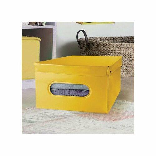 Compactor Úložný box Nordic 50 x 38,5 x 24 cm, žlutá