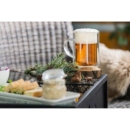 4Home Termo sklenice Beer classic Hot&Cool 550 ml, 1 ks
