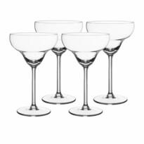 Royal Leerdam 4dílná sada sklenic na koktejl Margarita, 300 ml