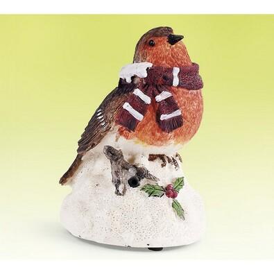 Zimní ptáček se zvukem