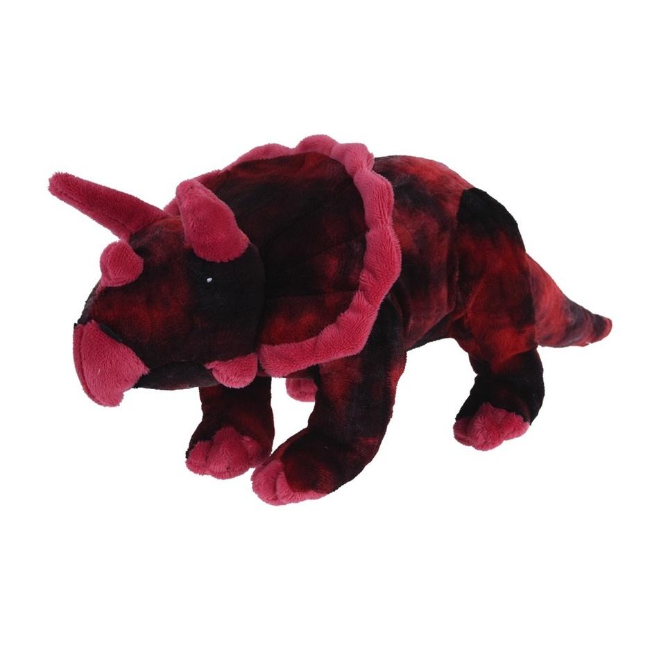 Koopman Plyšový Triceratops růžová, 38 cm