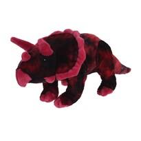 Plyšový Triceratops růžová, 38 cm