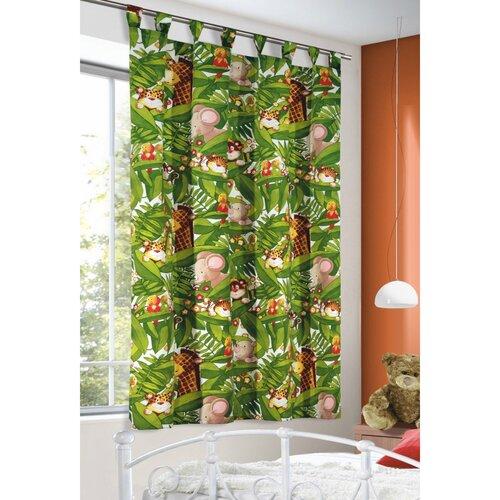 Dětský závěs džungle, 135 x 175 cm