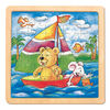 Bino Puzzle Medveď s myšou Oli a Lea