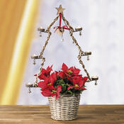 Květináč se stojanem na 6 svíček