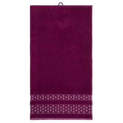 Ručník Vanesa fialová, 50 x 90 cm