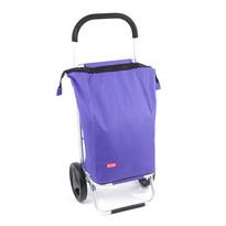 Nákupní taška na kolečkách Nice, fialová