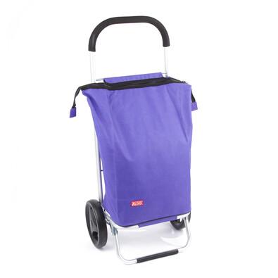 Aldo Nákupná taška na kolieskach Nice, fialová