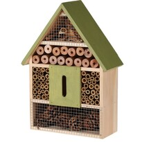 Hmyzí domeček zelená, 22 x 9 x 30 cm