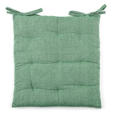 Sedák Leo zelená, 40 x 40 cm, sada 2 ks