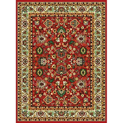 Kusový koberec Teheran 117 Red, 60 x 110 cm
