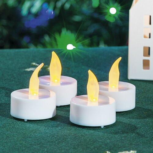 Set lumânări LED Flicker, 4 buc.