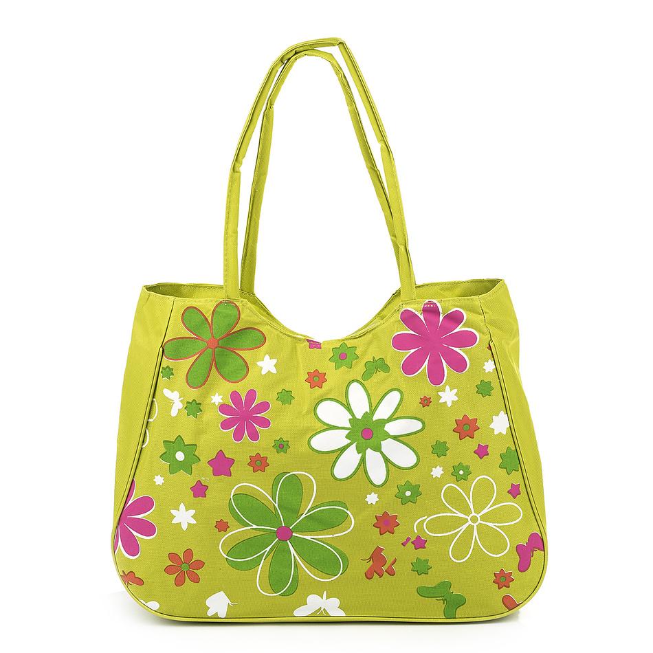 Plážová taška Kvety