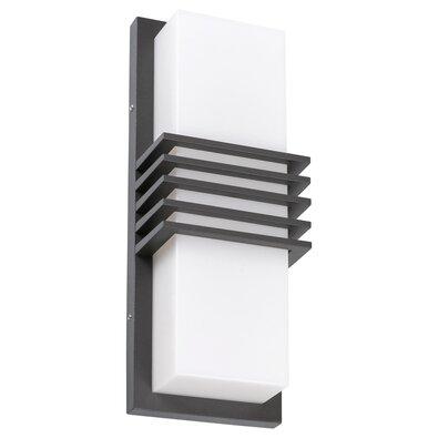 Rabalux 8940 Rodez Venkovní LED nástěnné svítidlo, černobílá