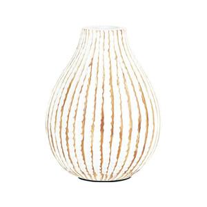 Autonic Polyresinová váza Ball, 15 cm