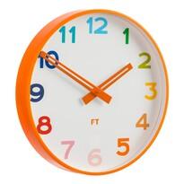 Future Time FT5010OR Rainbow orange Dětské nástěnné hodiny, pr. 30 cm