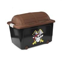 KIS Dekorační úložný box W box Skulls N Bones, 50 l