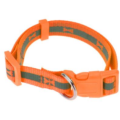 Neon narancssárga kutyanyakörv, S méret