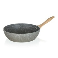 Banquet Natural Stone wok serpenyő, 28 x 7,8 cm