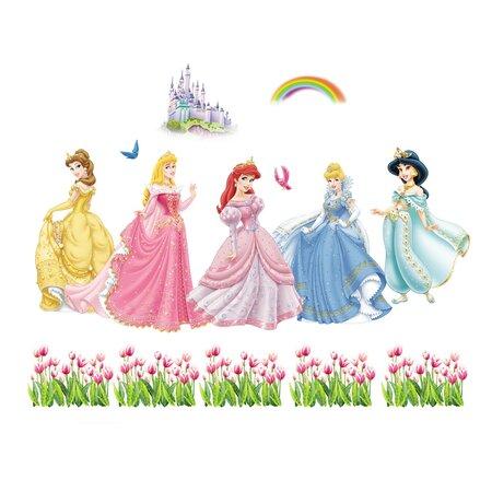 Samolepicí dekorace Princezny