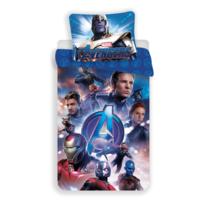 Lenjerie de pat Jerry Fabrics Avengers Endgame, din bumbac, 140 x 200 cm, 70 x 90 cm