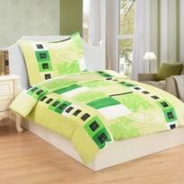 Lenjerie de pat din micro-pluș Verdoso, 140 x 200 cm, 70 x 90 cm