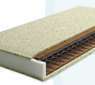 Pružinová matrace matrace do postele, bílá, 80 x 195 cm