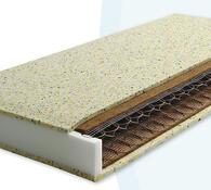 Pružinová matrace matrace do postele, bílá, 85 x 195 cm