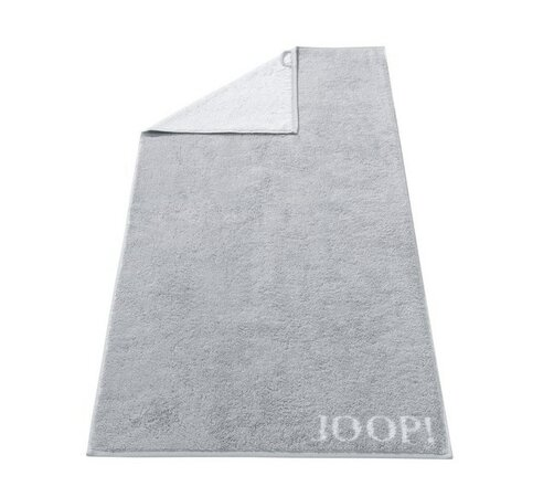 Osuška Doubleface JOOP!, 80 x 150 cm, stříbrná