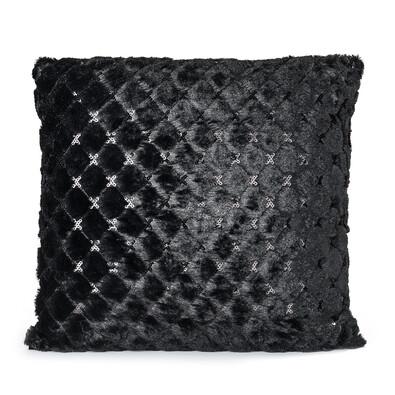 Polštářek Selene černá , 45 x 45 cm