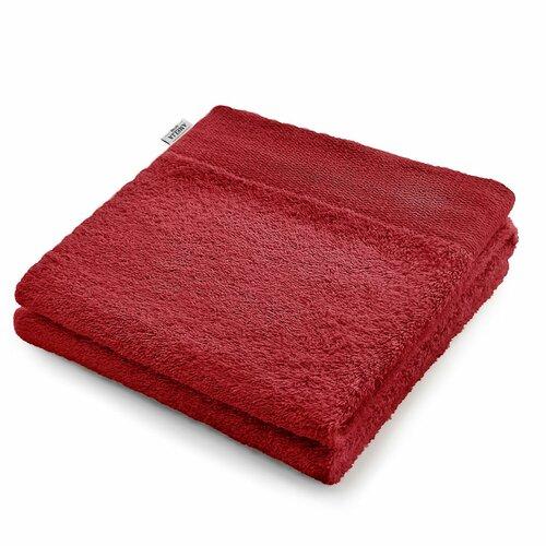 AmeliaHome Ręcznik Amari czerwony, 50 x 100 cm