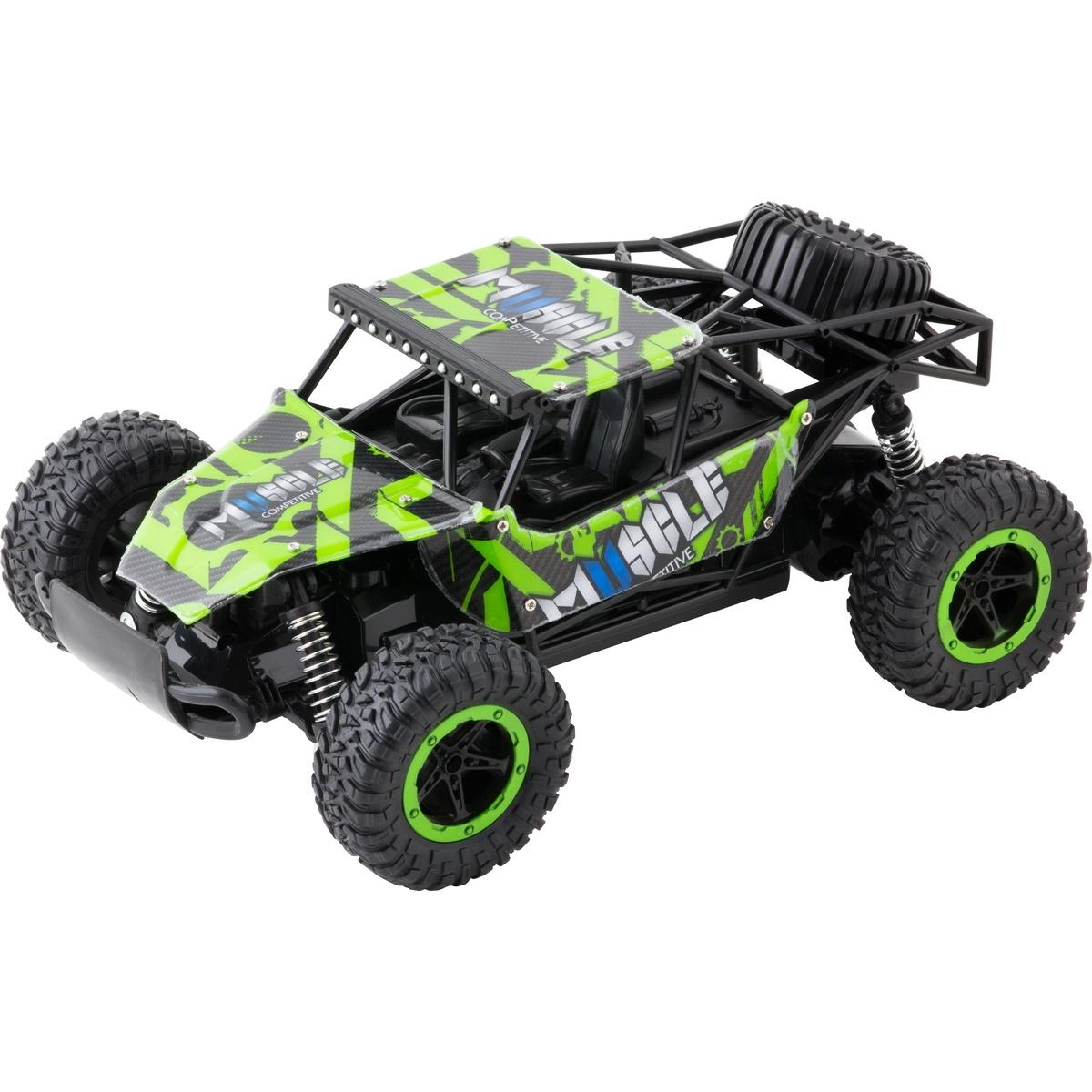 Buddy Toys BRC 16.511 Auto na diaľkové ovládanie RC Bulan Maxi, zelená
