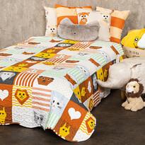 4Home Detský prehoz na posteľ Patchwork, 150 x 200 cm