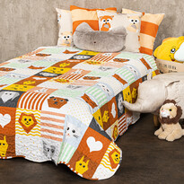 Cuvertură de pat pentru copii 4Home Patchwork, 150 x 200 cm