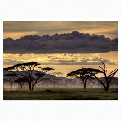 Puzzle Africká krajina