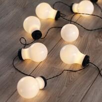 DecoKing Fényfüzér Izzók, meleg fehér, 10 LED-es