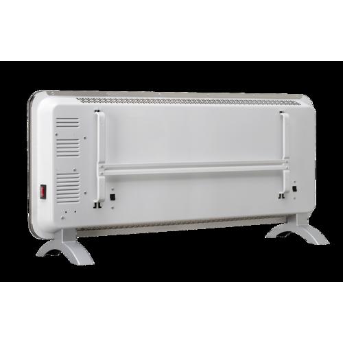 Concept KS4000 sklenený konvektor s montážou na stenu,  biela