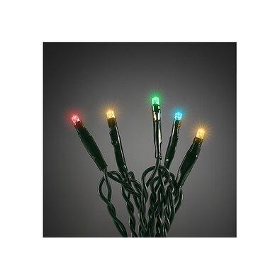 Vánoční světelný řetěz 200 LED, 30 m, barevná