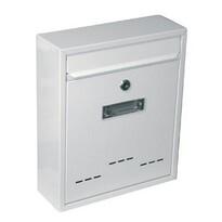 Cutie poştală Radim, albă, 26 cm