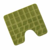 Dywanik łazienkowy Standard Mech zielony, 60 x 50 cm