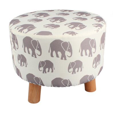 Taburet Elefanți, diam. 40 cm