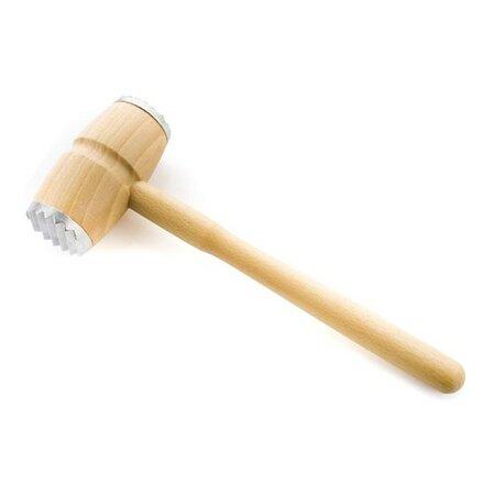 BANQUET Palička dřevěná na maso BRILLANTE 30 cm, okovená