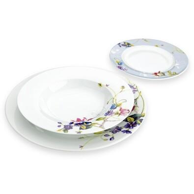 18dílná sada talířů Luna