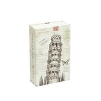 Cutie valori tip carte Pisa, 12 x 18 x 5 cm