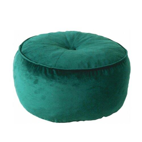 Látkový taburet Kerem, smaragdová