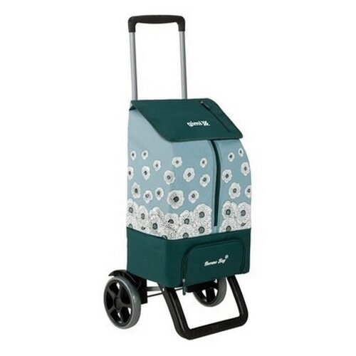 Nákupná taška na kolieskach Kangoo Thermo zelená