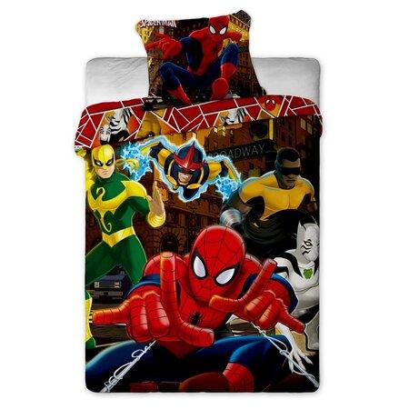 Lenjerie de pat pentru copii Spiderman Hero, 140 x 200 cm, 70 x 90 cm