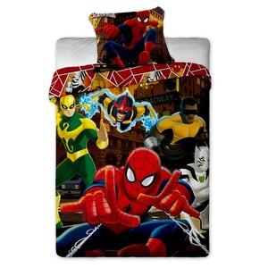 Dětské bavlněné povlečení Spiderman Hero, 140 x 200 cm, 70 x 90 cm