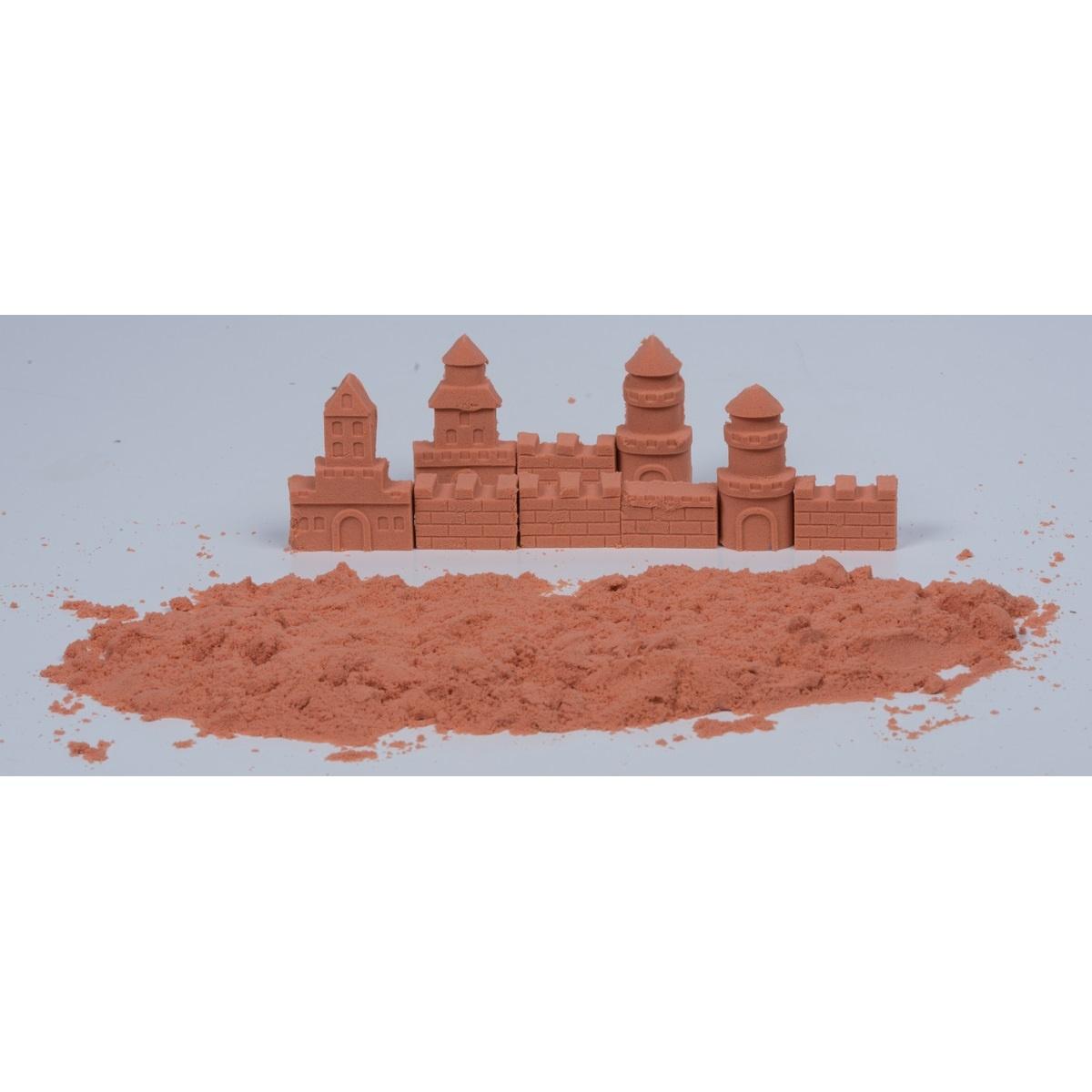 Modelovací písek, oranžová